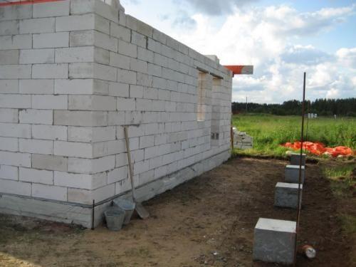 Строительство дома,гаража из газоблока Харьков