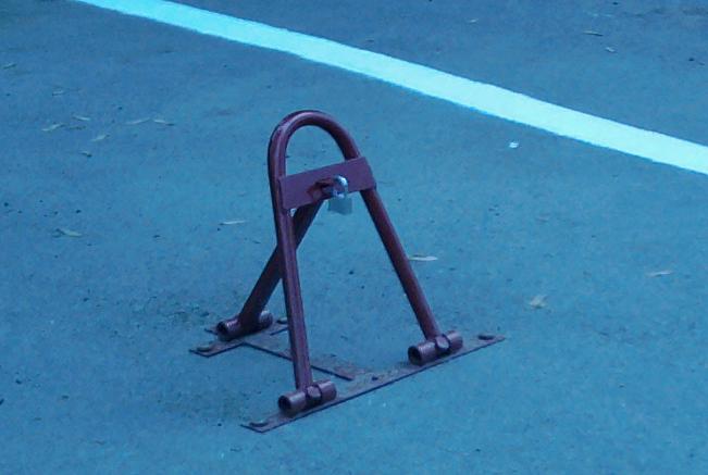 Парковочные барьер своими руками